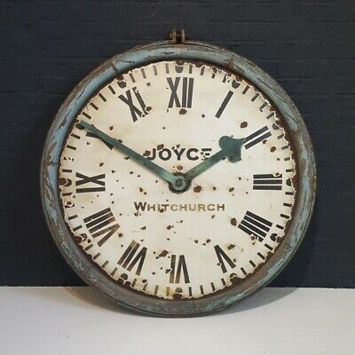 Joyce, Whitchurch, Antique Station / Railway Clock dial and hands