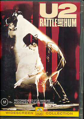 U2 Rattle And Hum DVD VGC