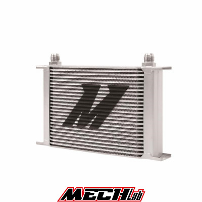 RADIATORE OLIO 25 file MISHIMOTO oil cooler universale AN10 10-AN JIC MMOC-25