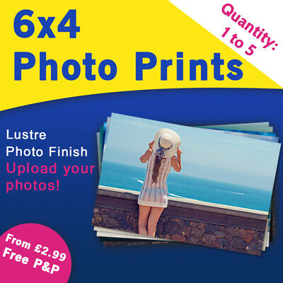 6x4 Photo Prints - Personalised photograph printing service - Upload your photos