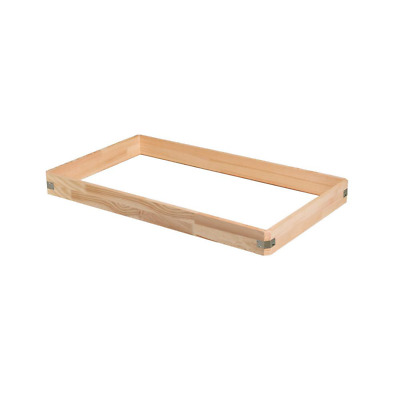 25 In. X 47 In. Wooden Box Extension For Attic Ladder