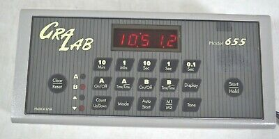 Gralab Electronic Digital Timer Model 655