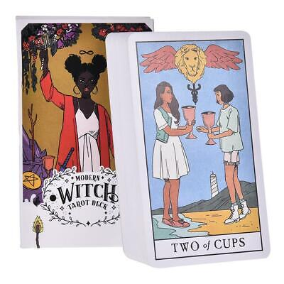 78Pcs The Modern Witch Tarot Deck Oracle Cards Guidance Divination Fate Tarot