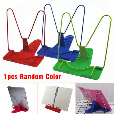 Book Holder Stand Document Reading Foldable Tools Portable Adjustable Angle