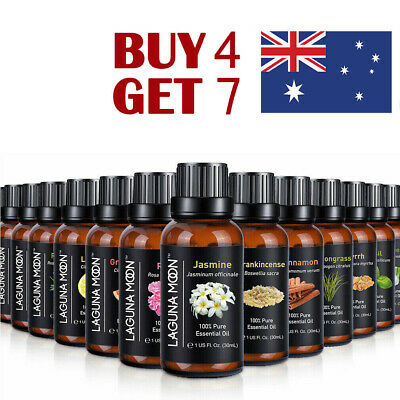 10 Essential Oil 100% Pure & Natural Aromatherapy Diffuser Fragrance Oils Aroma