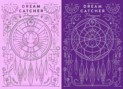 DREAM CATCHER [PREQUEL] 1st Mini Album BEFORE/AFTER CD+Photo Book+Card SEALED