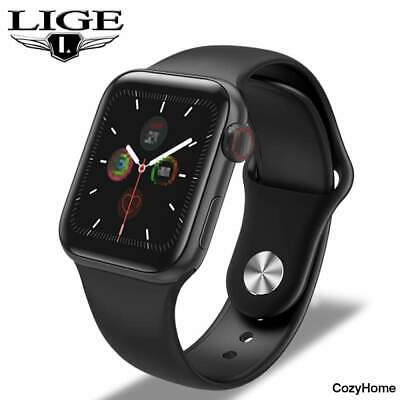 Full Touch Screen Smart Watch Body Temperature Heart Rate Monitor Smartwatch