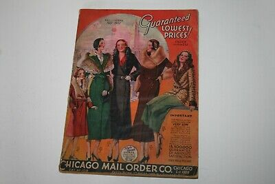 Vintage 1931-1932 Chicago Mail Order Company Chicago Ill Fall & Winter Catalog