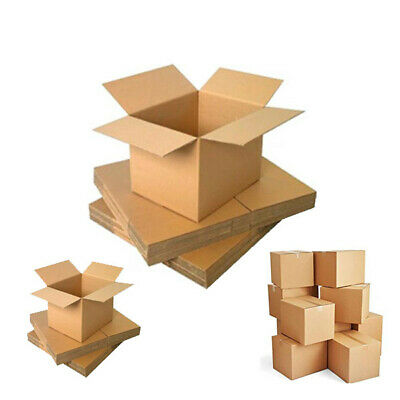 Single Double Wall Cardboard Packing Postal Parcel Mailing Removal Boxes AL SIZE
