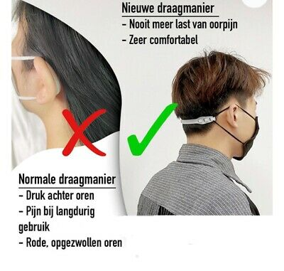 Face Cover Protection Ears  Washable
