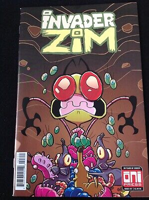 Invader Zim #45 GalaxyCon Exclusive Comic Variant Cover