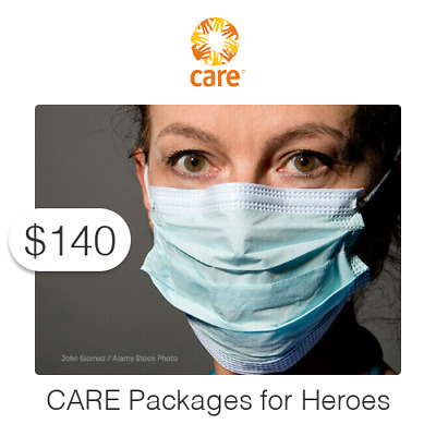 $140 Charitable Donation For: CARE Packages for Frontline Heroes