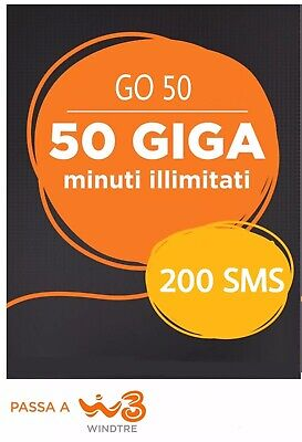 Coupon Passa A Wind Tre 200 Sms Minuti Illimitati 50Gb Da Vodafone Tim Ho Mobile