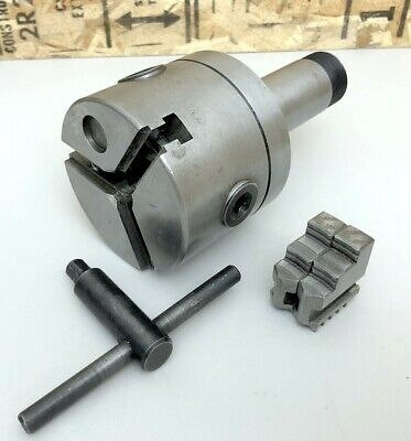 """Heavy Duty 3"""" 3 Jaw Lathe Chuck With 5C Mount"""