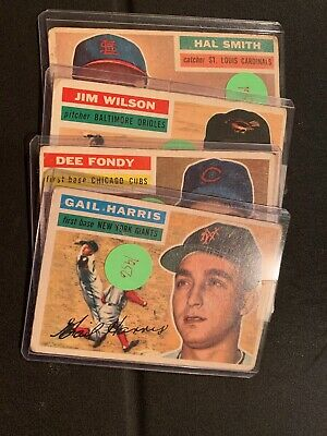 1956 Topps Baseball Singles------Pick From List------Complete Your Set!!
