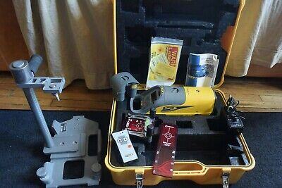 Trimble Red Beam Pipe Laser Model DG511 with Trivet Stand CLEAN!!!!!!