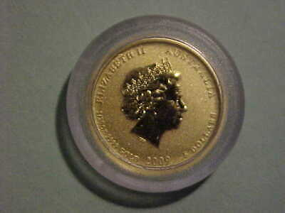 2009 Australian 1/20 Oz *Year of the Ox* Gold Coin
