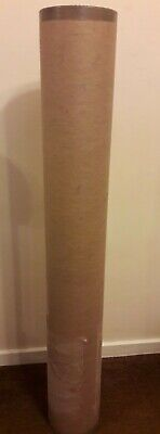 Strong Heavy Duty Cardboard Tube With End Lids. 1000 Mm X 155 Mm.