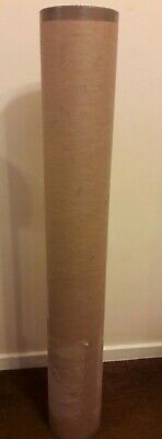 Strong Heavy Duty Cardboard Tube With End Lids. 1100 Mm X 155 Mm.