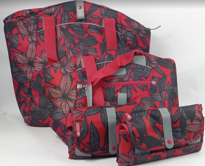 New California Innovations Fold Down Insulated Market Totes Cooler Bags in box