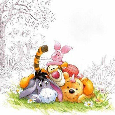"Disney's,''Disney Winnie The Pooh Friends""-Cross Stitch Pattern, DIY"