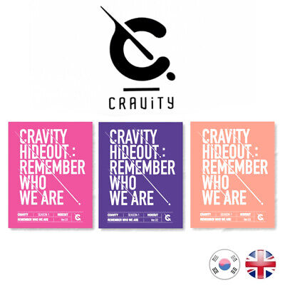 [NEW+SEALED] CRAVITY Season 1 HIDEOUT: Remember Who We Are Mini Album Kpop UK