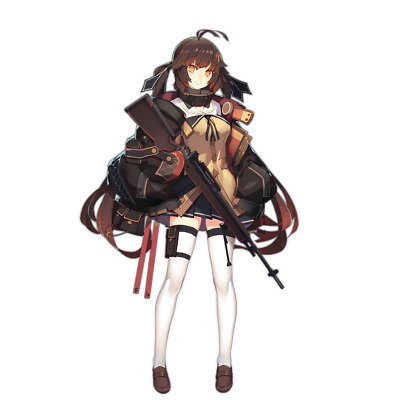 "Girls Frontline Thompson Anime Waifu Sticker 6/"" Decal"