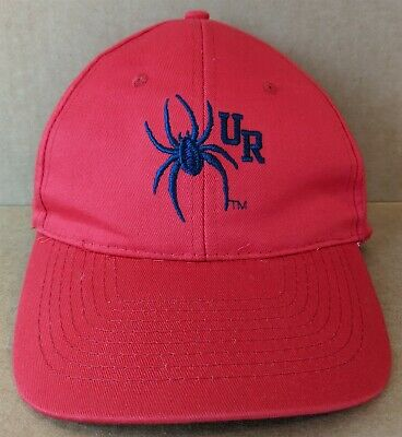 NCAA University of Richmond Spiders College Fitted Caps Hats Navy