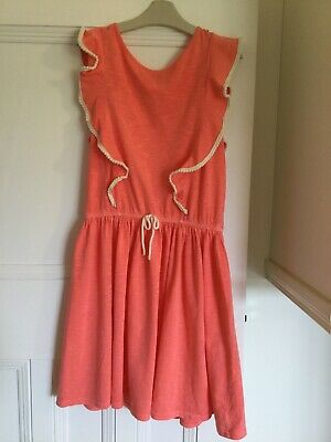 Next Salmon Pink Coloured Summer Dress (Aged 13 Years)