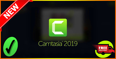 Camtasia Studio 2019.0.9 ✔Lifetime Activation✔ & ✔Windows