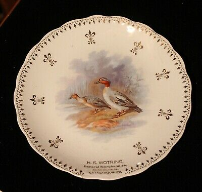 Advertising Plate From H. S. Wotring General Merchandise Catasauqua, Pa.