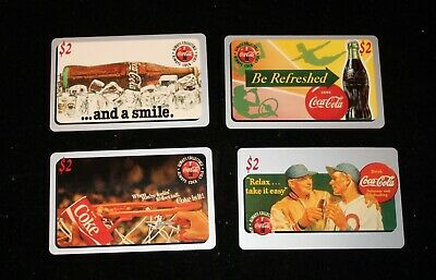 Lot Of ( 11 ) Different Coca-Cola Sprint Phone Cards