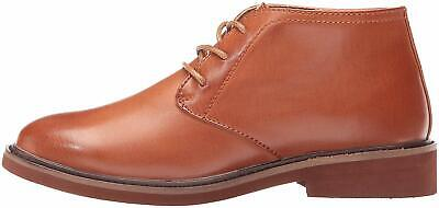 Kids NOTFOUND Boys ballard Leather Lace Up Penny Loafers, Luggage, Size 2.0 Ppr2