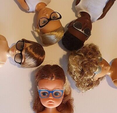 """Unboxed Mattel Creatable World glasses fit Sindy and other 9"""" 10"""" 11"""" dolls"""
