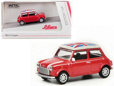 Rot 1:64 #452016700 Schuco Mini Cooper Union Jack