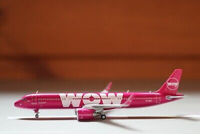 Gemini Jets Wow Air A321Neo 1:400 scale TF-SKY