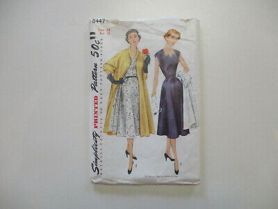 Simplicity 8447 16-24 Vintage 40/'s Overalls Sewing Pattern~Rosie the Riveter