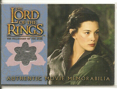 Lord of the Rings - Arwen's Riding Outfit memorabilia card - Topps 2002