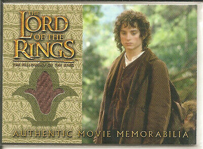 Lord of the Rings - Frodo's Travel Jacket memorabilia card - Topps 2002