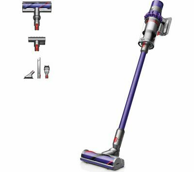 Dyson Cyclone V10 Animal Cordless Vacuum Cleaner with 5 tools and 2 accessories.