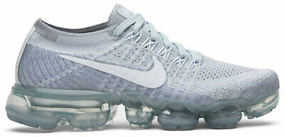 NIKE AIR VAPORMAX FLYKNIT 849557 004 Pure Platinum White Wolf Grey 9 US Womens