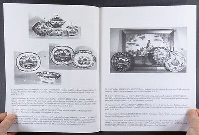 Antique Historical Staffordshire Transferware Pottery -The Stearns Collection