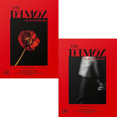 DAY6 BOOK OF US:THE DEMON Album 2 Ver SET 2CD+POSTER+2P.Book+2Card+etc+2PreOrder