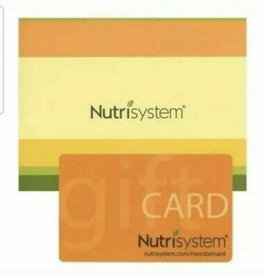 Nutrisystem $100 Gift Card - Free Shipping - Up to $200 Bonus Gift Card