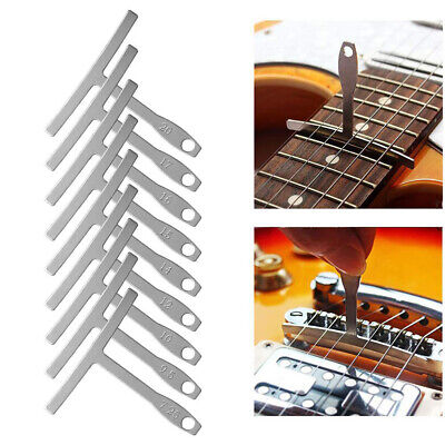 Notched String Action Guitar Luthier Tools Set Bass High Accuracy Radius Gauge