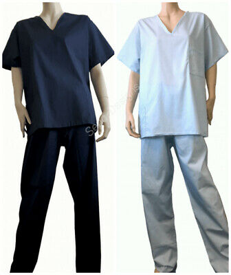 Ready To Wear NHS Hospital Scrubs Uniform Set Unisex | Made In The UK Free P&P
