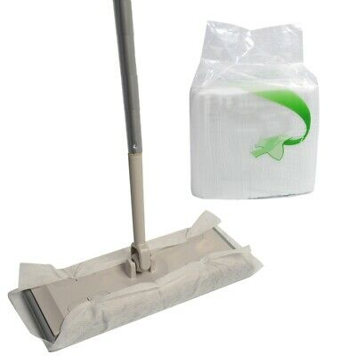 Flat Mop Mop 100pcs 21*28cm Mop Cloth Grime Cleaning Mop Anti Static/ Dirt