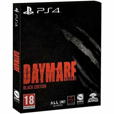 Daymare 1998 - Black Edition PS4 New Sealed Eng Resident Evil Limited Pal