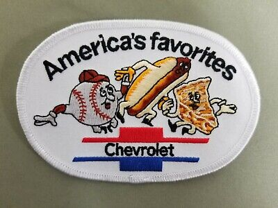 Chevrolet Embroidered Iron On Automotive Patch