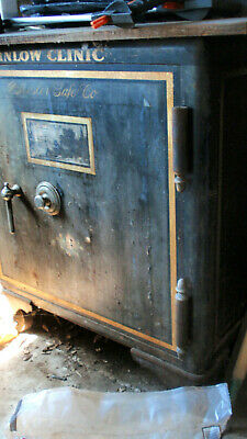 Antique Vintage Mosler Safe Inlow Clinic Shelbyville Indiana